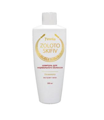 Шампунь для нормальных волос с биозолотом и экстрактом липы
