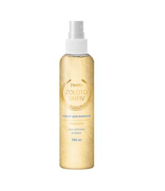 Спрей-кондиционер для волос с биозолотом, маслом облепихи и витаминами
