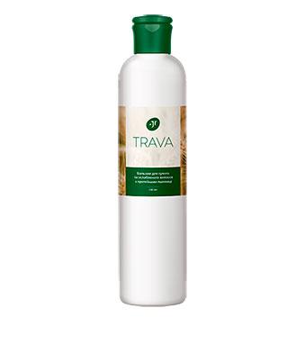 Бальзам для сухих и ослабленных волос с протеинами пшеницы