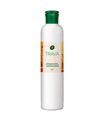 Шампунь для сухих и ослабленных волос с протеинами пшеницы