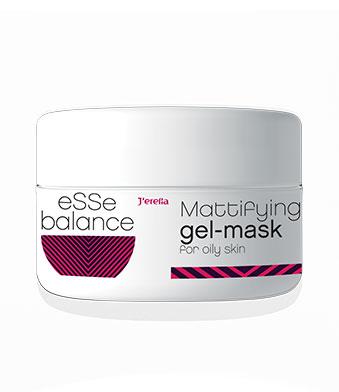 Гель-маска матирующая для жирной кожи