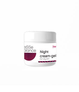 Крем-гель ночной для жирной кожи
