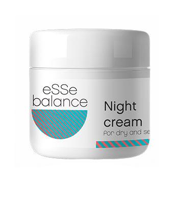 Крем ночной для сухой и чувствительной кожи