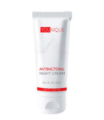 Антибактериальный ночной крем с АНА-кислотами