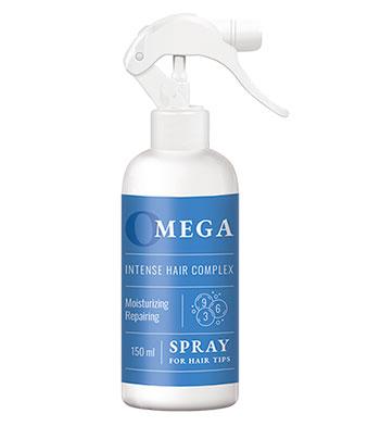 Двухфазный спрей для кончиков волос. Spray for hair tips with Omega